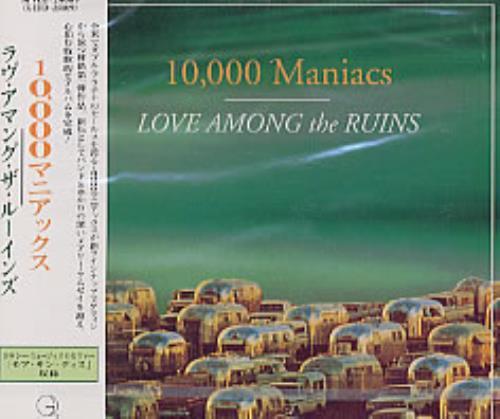 10,000 Maniacs Love Among The Ruins CD album (CDLP) Japanese 100CDLO134331