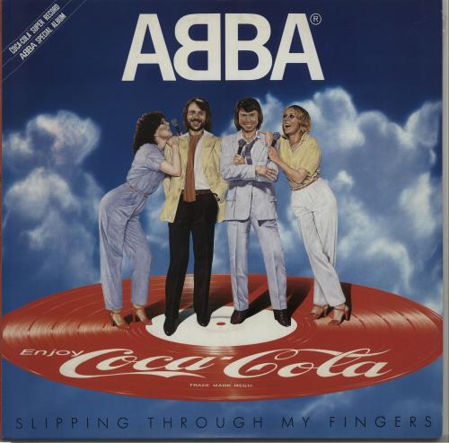 Abba Slipping Through My Fingers - Uncensored picture disc LP (vinyl picture disc album) Japanese ABBPDSL254989