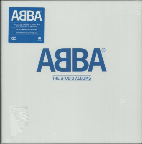 Abba The Studio Albums - 180gm - Sealed Vinyl Box Set UK ABBVXTH08281