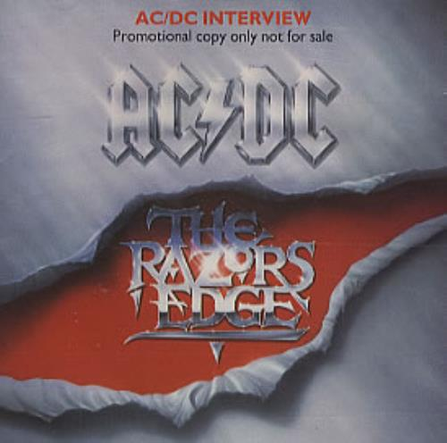 AC/DC The Razors Edge Interview CD album (CDLP) UK ACDCDTH23388