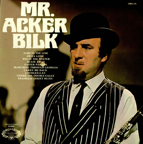 Acker Bilk Mr Acker Bilk Uk Vinyl Lp Album Lp Record