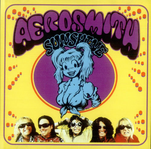 "Aerosmith Sunshine CD single (CD5 / 5"") US AERC5SU198782"
