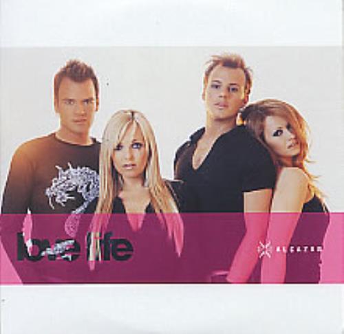 "Alcazar Love Life CD single (CD5 / 5"") Swedish ALZC5LO270196"