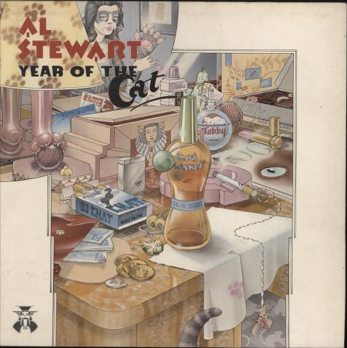 Al Stewart Year Of The Cat vinyl LP album (LP record) UK ALSLPYE290799