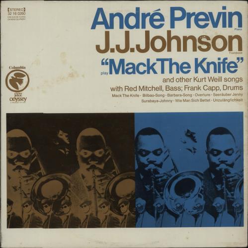 André Previn Mack The Knife vinyl LP album (LP record) US AP1LPMA667872