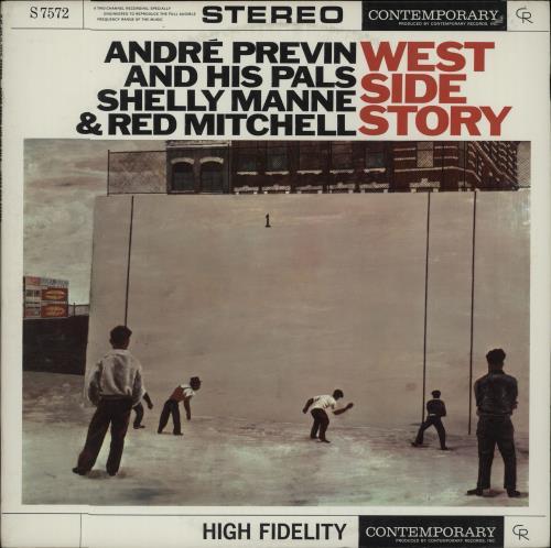 André Previn West Side Story vinyl LP album (LP record) US AP1LPWE667874