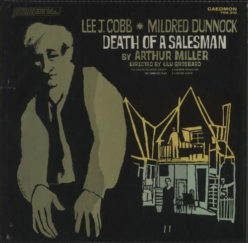 Arthur Miller Death Of A Salesman Vinyl Box Set US I41VXDE669407