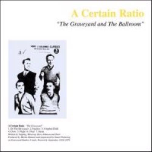 A Certain Ratio The Graveyard And The Ballroom CD album (CDLP) UK CTRCDTH272686