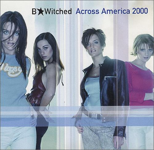 "B*Witched Across America 2000 CD single (CD5 / 5"") US B54C5AC176317"