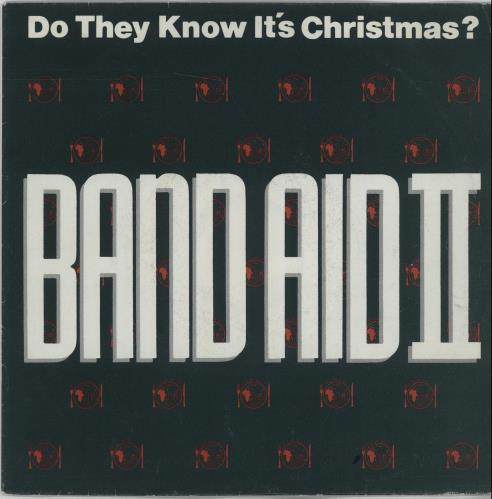 """Band Aid Do They Know It's Christmas 7"""" vinyl single (7 inch record) German AID07DO667588"""
