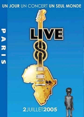 Band Aid Live 8 Paris DVD UK AIDDDLI340269