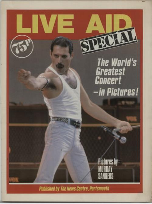 Band Aid Live Aid Special magazine UK AIDMALI624808