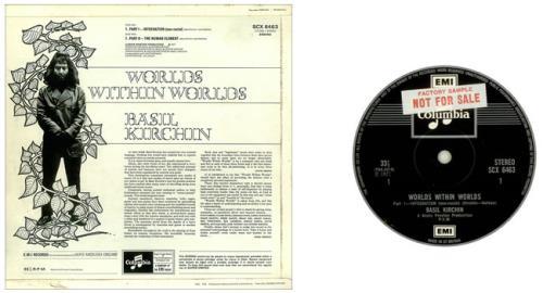 Basil Kirchin Worlds Within Worlds - Factory Sample vinyl LP album (LP record) UK BQVLPWO456750