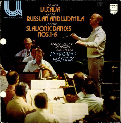 Bedrich Smetana Vltava / Russlan and Ludmila / Slavonic Dances Nos. 1-5 vinyl LP album (LP record) UK B8XLPVL535094