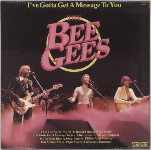 Bee Gees I've Gotta Get A Message To You vinyl LP album (LP record) UK BGELPIV201375