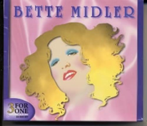 Bette Midler Bette Midler 3 For One 3-CD album set (Triple CD) Australian BMI3CBE170084
