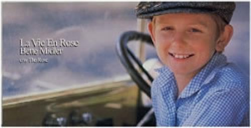 "Bette Midler La Vie En Rose 3"" CD single (CD3) Japanese BMIC3LA133458"