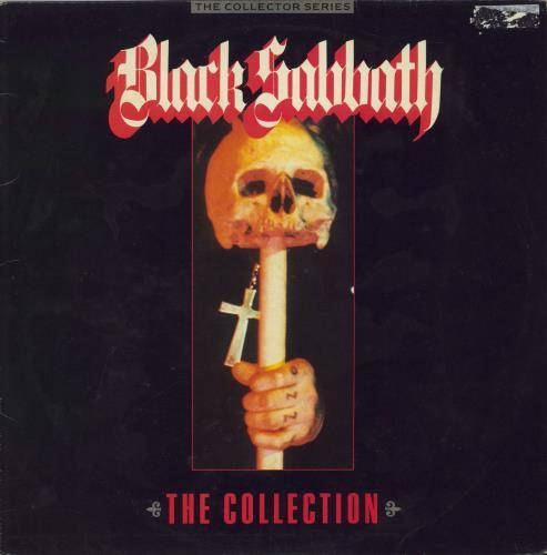 Black Sabbath The Collection 2-LP vinyl record set (Double Album) UK BLK2LTH447401