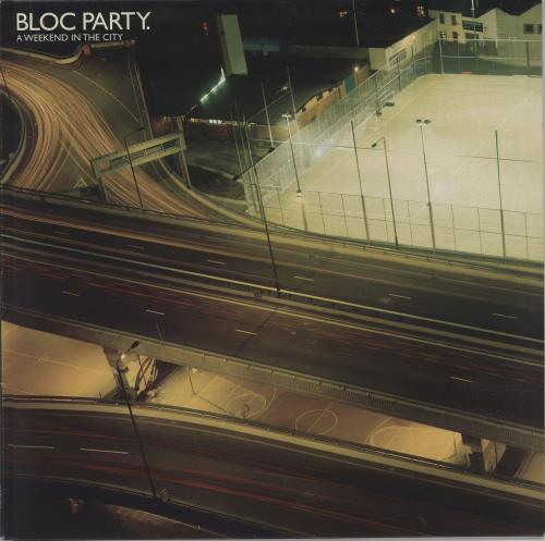 Bloc Party A Weekend In The City vinyl LP album (LP record) UK BB5LPAW388420