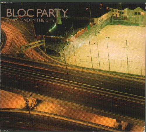Bloc Party A Weekend In The City 2-disc CD/DVD set Australian BB52DAW407510