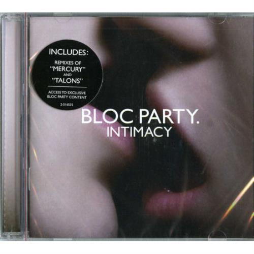 Bloc Party Intimacy CD album (CDLP) US BB5CDIN453991