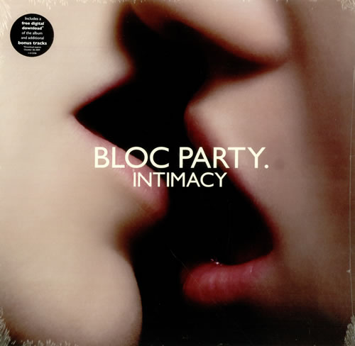 Bloc Party Intimacy vinyl LP album (LP record) US BB5LPIN456455