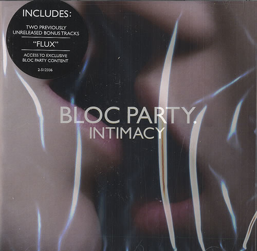 Bloc Party Intimacy CD album (CDLP) US BB5CDIN459722