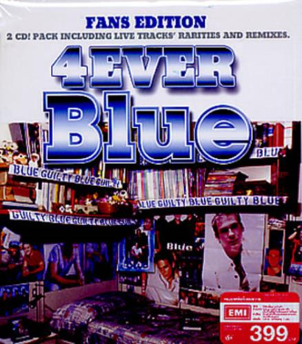 Blue (00s) 4Ever Blue 2 CD album set (Double CD) Thailand LUB2CEV344199
