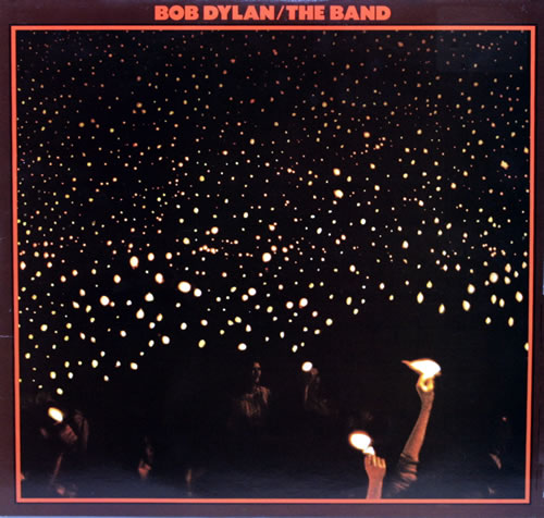 Bob Dylan Before The Flood - Graduated Orange Label 2-LP vinyl record set (Double Album) UK DYL2LBE550042