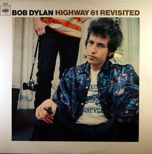 Bob Dylan Highway 61 Revisited (with Proof Sleeve) vinyl LP album (LP record) Dutch DYLLPHI550641