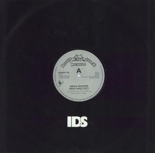 "Break Machine Break Dance Party 12"" vinyl single (12 inch record / Maxi-single) UK BKM12BR77965"