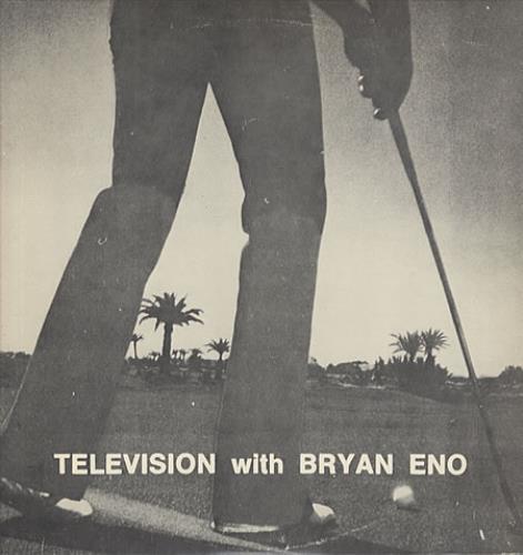 Brian Eno Television With Brian Eno vinyl LP album (LP record) US ENOLPTE341900