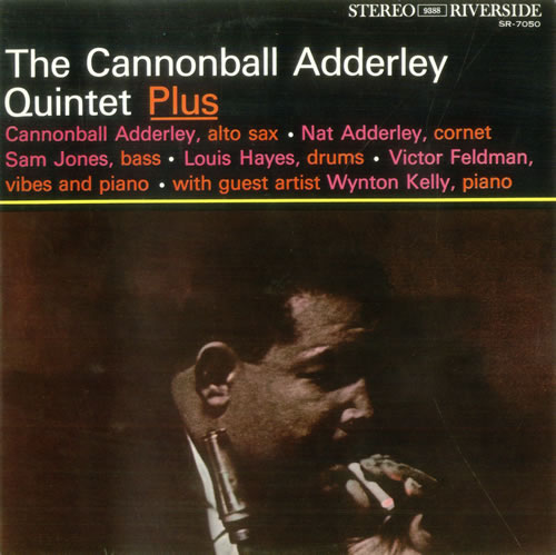 Cannonball Adderley The Cannonball Adderley Quintet vinyl LP album (LP record) Japanese ERLLPTH531508