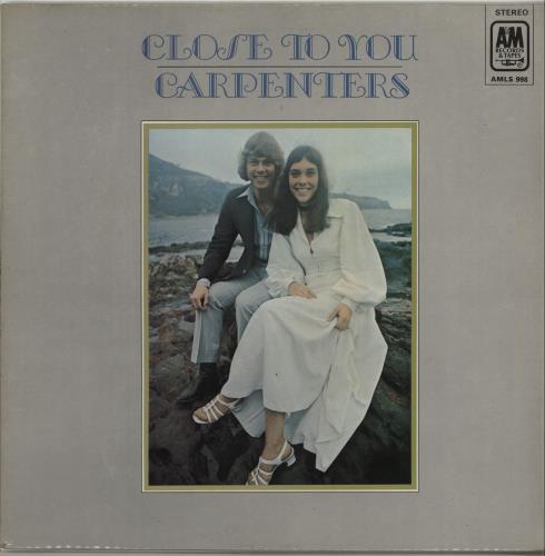Carpenters Close To You - 1st - Ruby Red Vinyl vinyl LP album (LP record) UK CRPLPCL647199