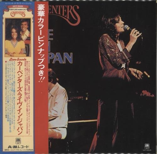 Carpenters Live In Japan SHM CD Japanese CRPHMLI474999