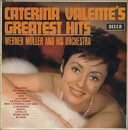 Caterina Valente Caterina Valente's Greatest Hits vinyl LP album (LP record) UK CVLLPCA376650