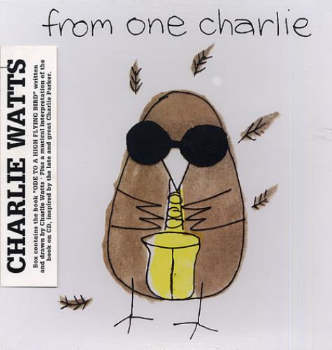 Charlie Watts From One Charlie - Sealed CD Album Box Set US CHWDXFR333454