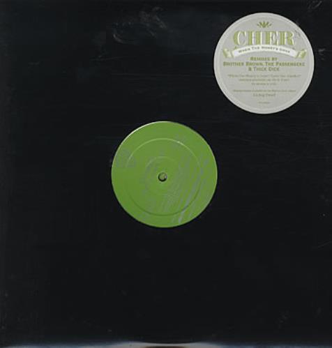 "Cher When The Money's Gone 12"" vinyl single (12 inch record / Maxi-single) US CHE12WH245664"