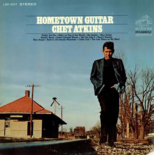 Chet Atkins Hometown Guitar vinyl LP album (LP record) US CA7LPHO486641