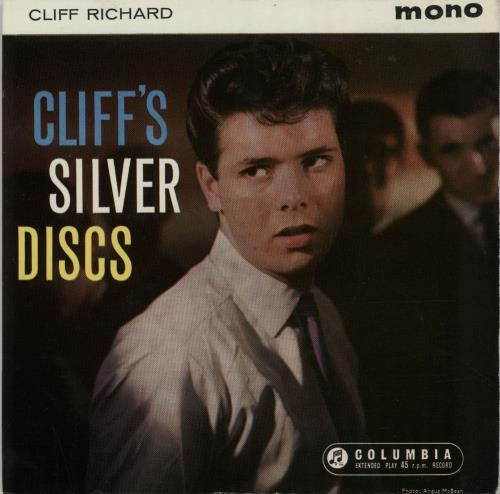 "Cliff Richard Cliff's Silver Discs EP 7"" vinyl single (7 inch record) UK RIC07CL377136"