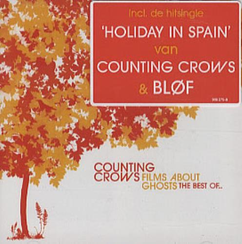 Counting Crows Films About Ghosts - The Best Of... CD album (CDLP) European CNTCDFI305906