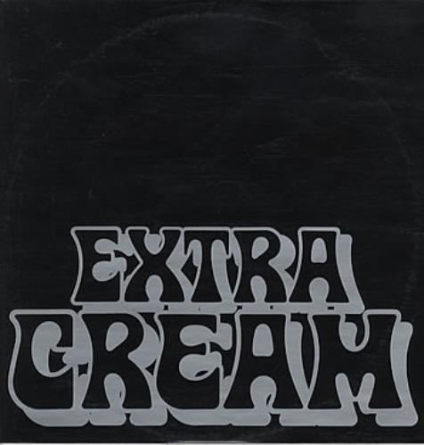 "Cream Extra Cream 12"" vinyl single (12 inch record / Maxi-single) Australian CRM12EX111544"