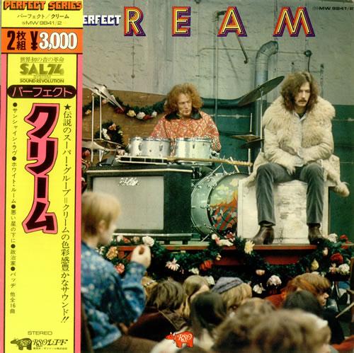 Cream Perfect Cream 2-LP vinyl record set (Double Album) Japanese CRM2LPE321635