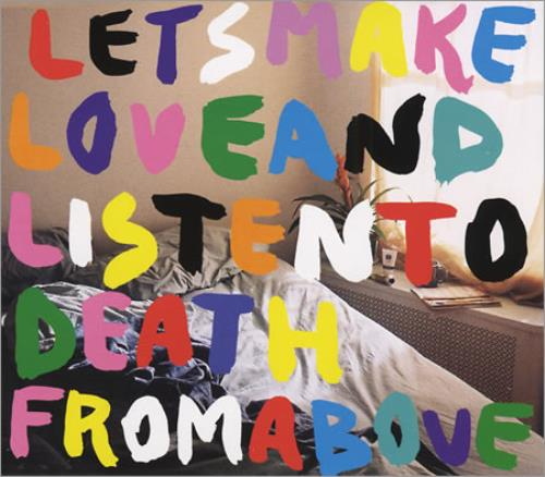 """CSS Let's Make Love And Listen To Death From Above CD single (CD5 / 5"""") UK CS-C5LE399752"""