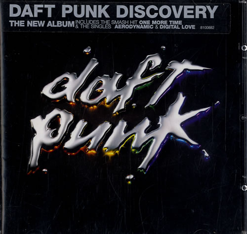 Daft Punk Discovery CD album (CDLP) UK DFPCDDI177823