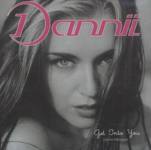 Dannii Minogue Get Into You CD album (CDLP) UK DANCDGE96398