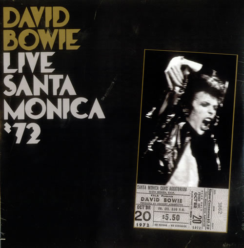 David Bowie Live Santa Monica '72 - Sealed 2-LP vinyl record set (Double Album) UK BOW2LLI433860