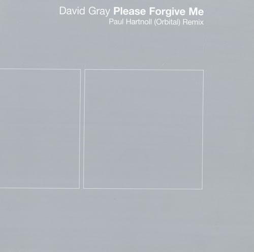 """David Gray Please Forgive Me - Title Sleeve 10"""" vinyl single (10"""" record) UK DGR10PL165482"""