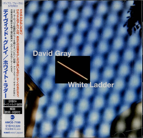David Gray White Ladder CD album (CDLP) Japanese DGRCDWH222673