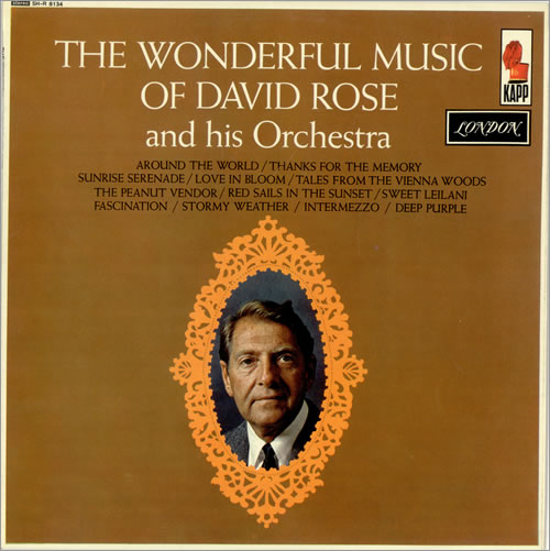 David Rose The Wonderful Music Of David Rose vinyl LP album (LP record) UK RO8LPTH486681